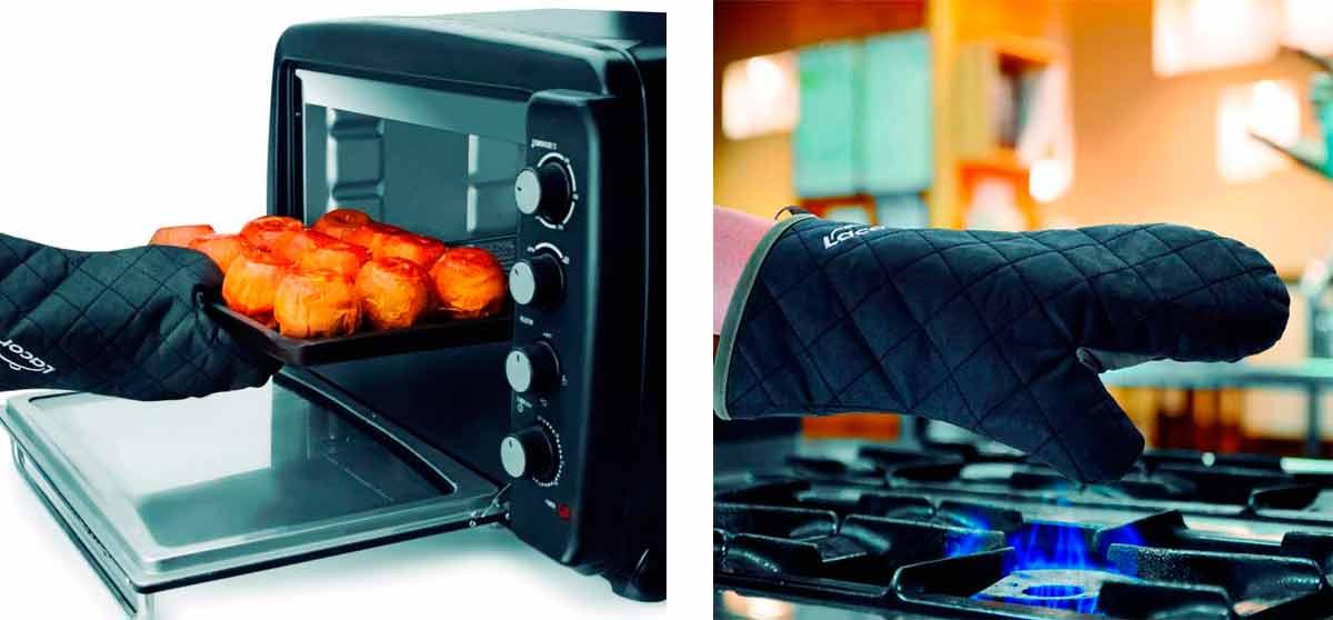 guante de cocina retardante