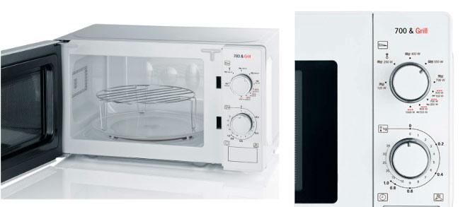 microondas con grill severin