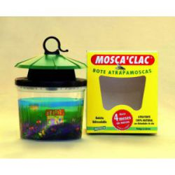 Bote Atrapamoscas Mosca Clac AGH Protecta