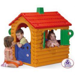 Casa Niños Troncos Plástico Injusa