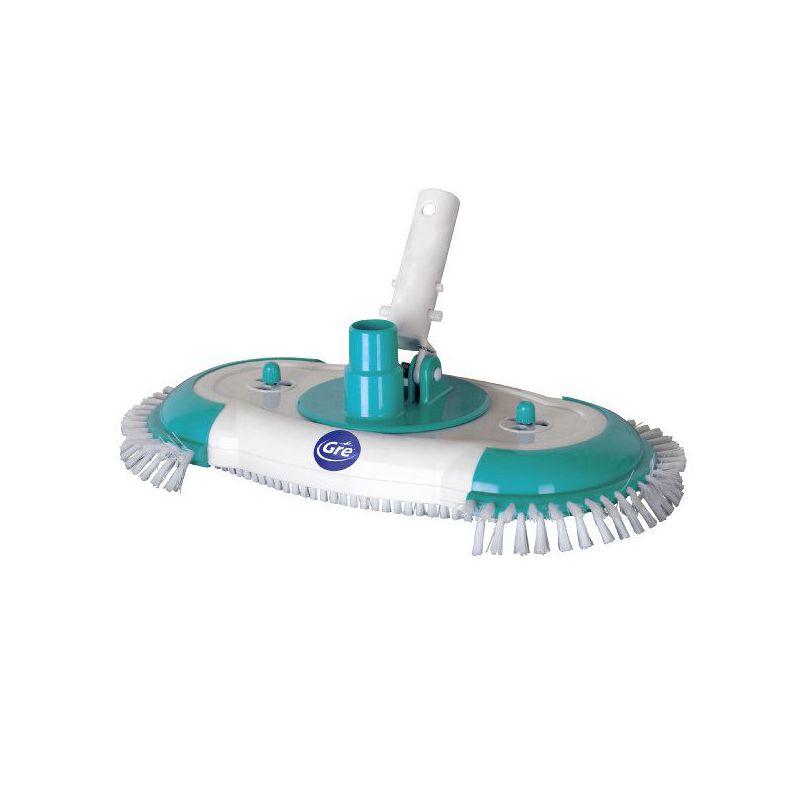 Limpia fondos piscina ovalado rotativo for Productos de limpieza de piscinas