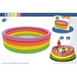 Piscina Hinchable 4 Aros Sunset Intex