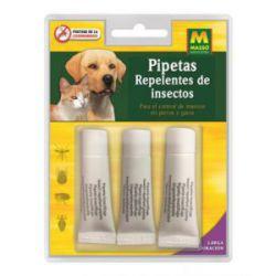 Repelente Pipeta Perro y Gato Masso