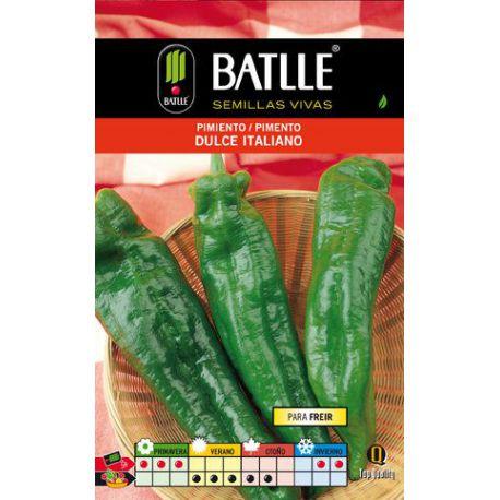 Semillas Pimiento Dulce Italiano Sobre Battle