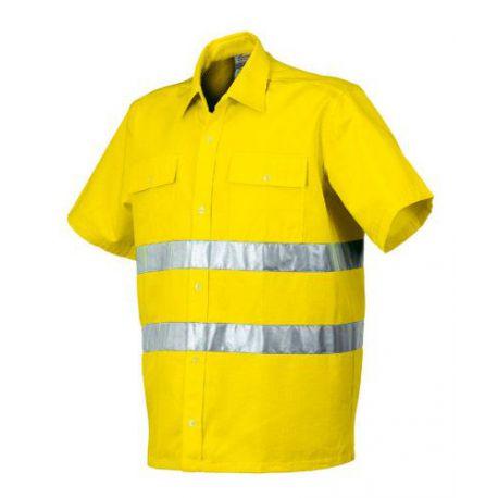 Camisa Alta Visibilidad Amarilla Industrial Starter