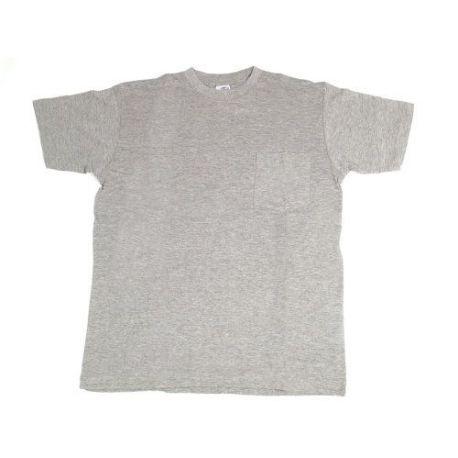 Camiseta Algodón Manga Corta Gris Juba