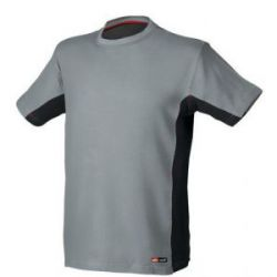 Camiseta Stretch Manga Corta Gris Issa Line Stretch