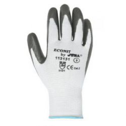 Pack 5 Guantes Econit Poliester Palma Nitrilo Juba
