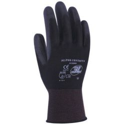 Pack 12 Guantes Supercontact N Poliester Palma 3L