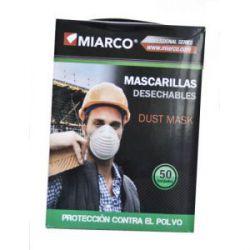 Mascarilla Papel con Adaptador Miarco