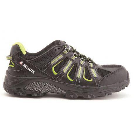 Zapato Trail Negro S1P Bellota