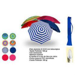 Parasol Playa Poliéster Aluminio Surtido Antonio Hernandez Zaballos
