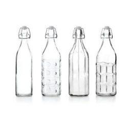 Botella Cristal Vintage Surtidas Ibili