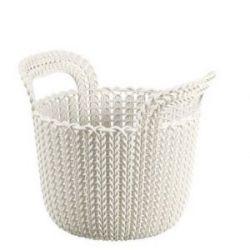 Cesta 3 L Tricotada Knit Round Curver