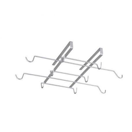 Colgador 10 Tazas Spidermug Inoxidable Metalex
