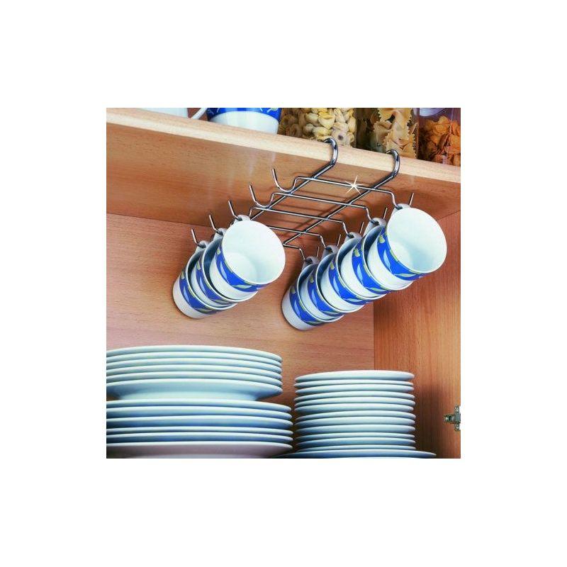 Colgador tazas interior armario cocina for Colgador utensilios cocina