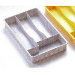 Cubertero Plástico Blanco Fervik