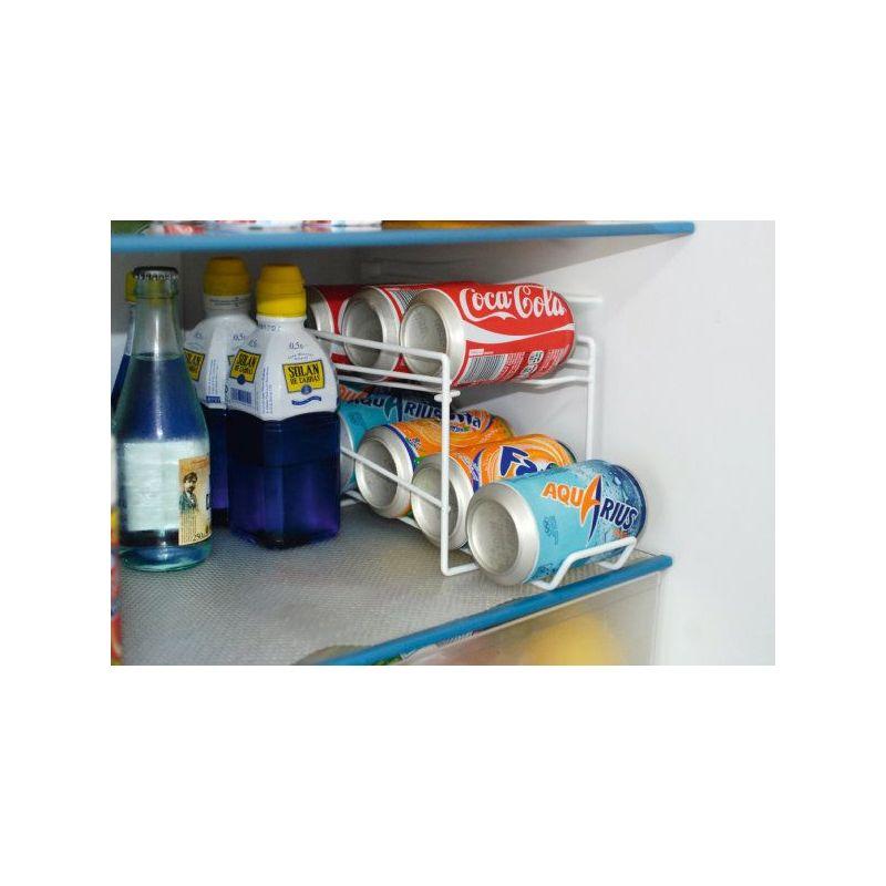 Dispensador frigorifico 8 botes 14x33x15 for Dispensador de latas para frigorifico