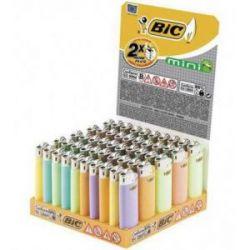 Encendedor Bic Mini Pastel 50 Unid Bic