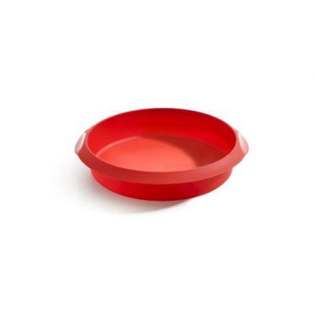Molde Redondo Silicona Rojo Lekue