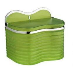 Salero Verde Traslucido Toyma