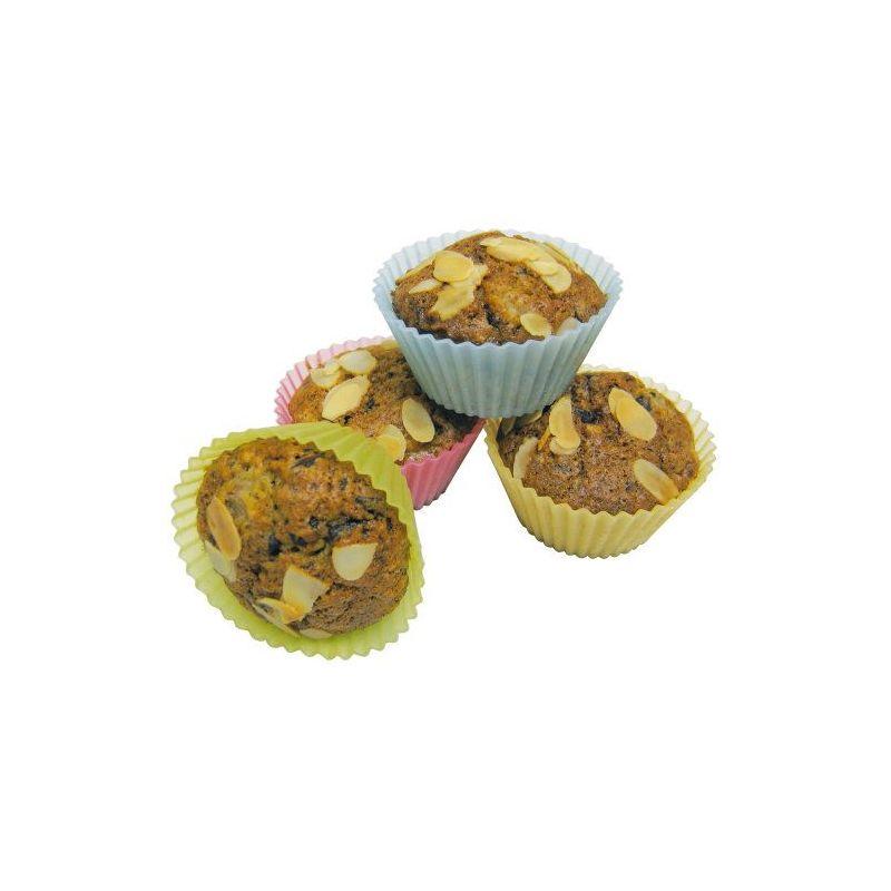 Set 12 moldes silicona cupcake - Moldes cupcakes silicona ...