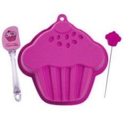 Set Reposteria Silicona Cupcake CMP