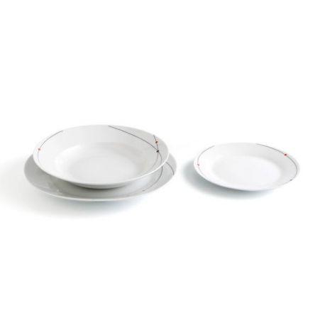 Vajilla Porcelana 18 Piezas Luminarc
