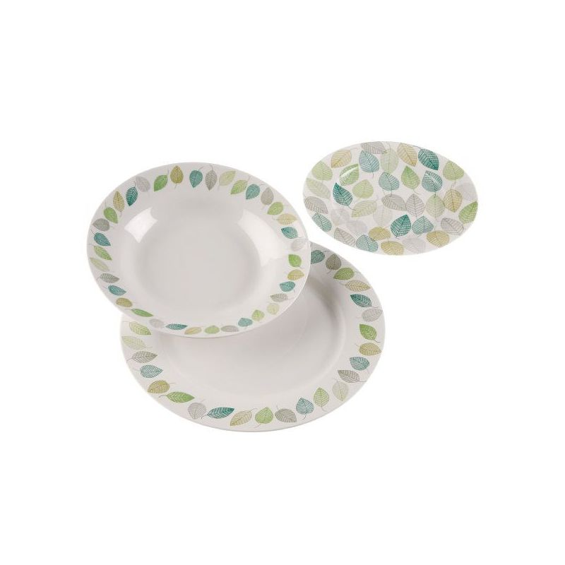 Vajilla porcelana 18 piezas for Ofertas vajillas porcelana
