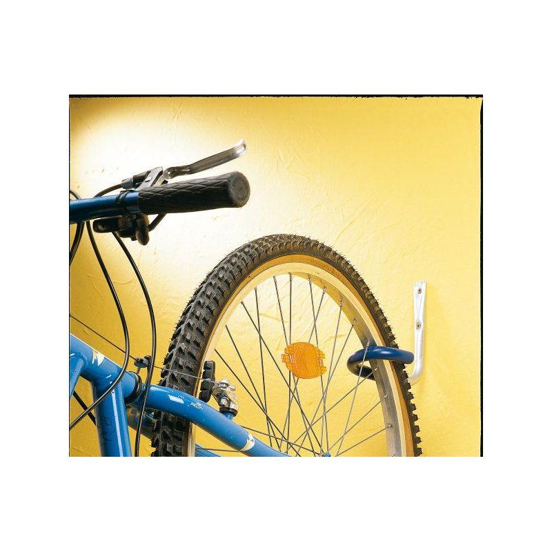Gancho soporte bici pared forrado for Gancho adhesivo pared