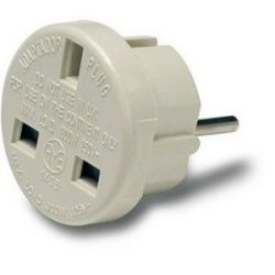 Adaptador Europeo Ingles 10A 250 V