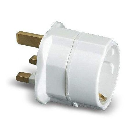 Adaptador Ingles Europeo 10A 250 V