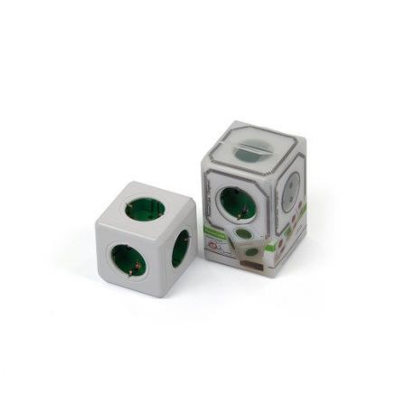 Base Multiple Powercube 5 Tomas 250 Verde