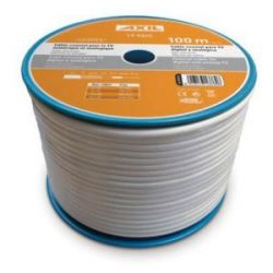 Cable Coaxial Tipo 19Vatc Blanco 100 M