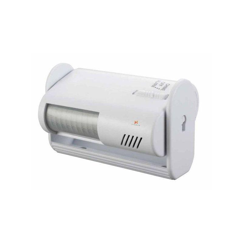 Detector de movimiento con alarma y timbre - Detector de movimiento ...