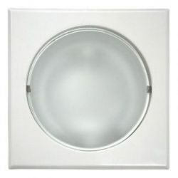 Foco Downlights Cuadr.185 Blanco 2Pl 25W