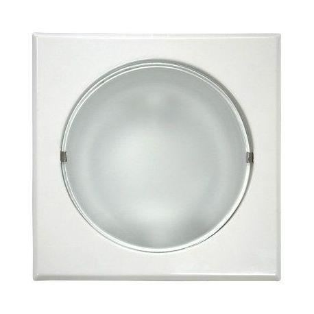 Foco Downlights Cuadr.185 Blanco 2Pl 25W