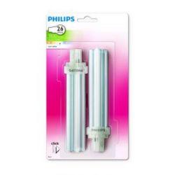 Lampara Pl C 26W 2 Pins Luz Fria 2 Unidades
