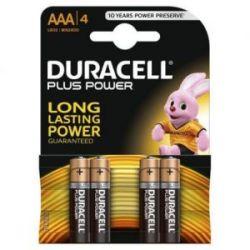 Pila Alcalina Duracell Plus Power Lr 03 4 Unidades