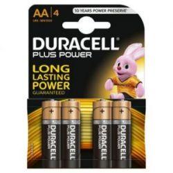 Pila Alcalina Duracell Plus Power Lr 06 4 Unidades