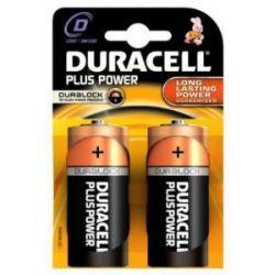 Pila Alcalina Duracell Plus Power Lr20 2 Unidades