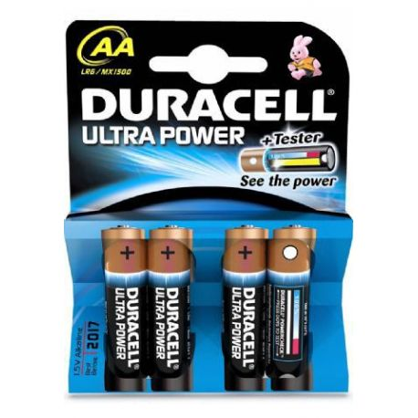 Pila Alcalina Duracell Ultra Lr 06 4 Unidades