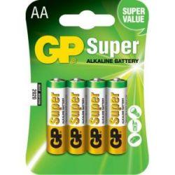 Pila Alcalina Gp Lr06 1.5 V 4 Unidades