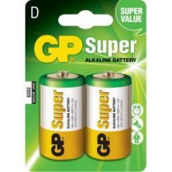 Pila Alcalina Gp Lr20 1.5 V 2 Unidades