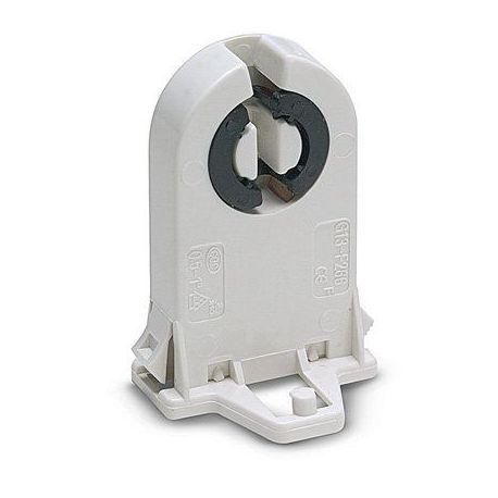 Portalamparas Fluorescencia G-13 Blanco