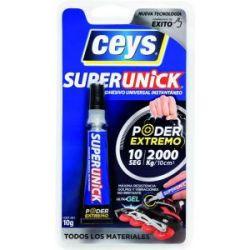 Adhesivo Superunick Poder Extremo 10 g Ceys