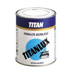 Esmalte Acrilico Satinado Blanco Titanlux