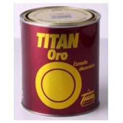 Esmalte Oro Rojizo 50 ml Titanlux