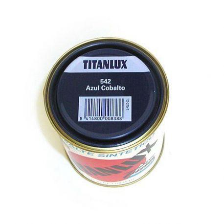 Esmalte Sintético Azul Cobalto Titanlux