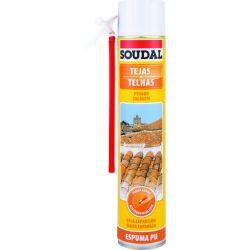 Espuma Tejas Poliuretano Soudal Canula 750 ml Soudal